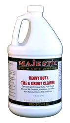 Majestic Heavy Duty Tile & Grout Cleaner Gal web