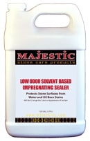 Majestic Low Odor Solvent Based Impregnating Sealer