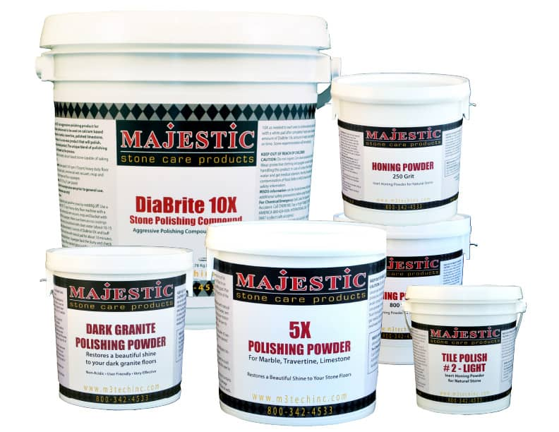 Majestic Polishing & Honing Powders
